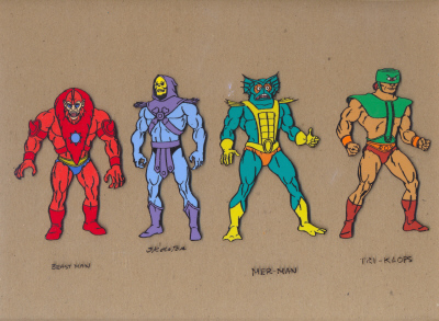 Cels of a Dutch dude - He-Man Masters of the Universe